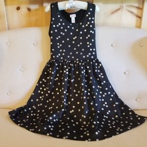 Justice polka dot dress
